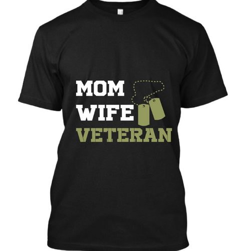 Wife mom veteran