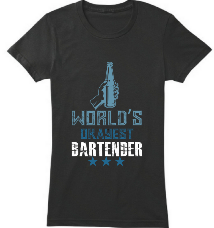 World's okyest bartender