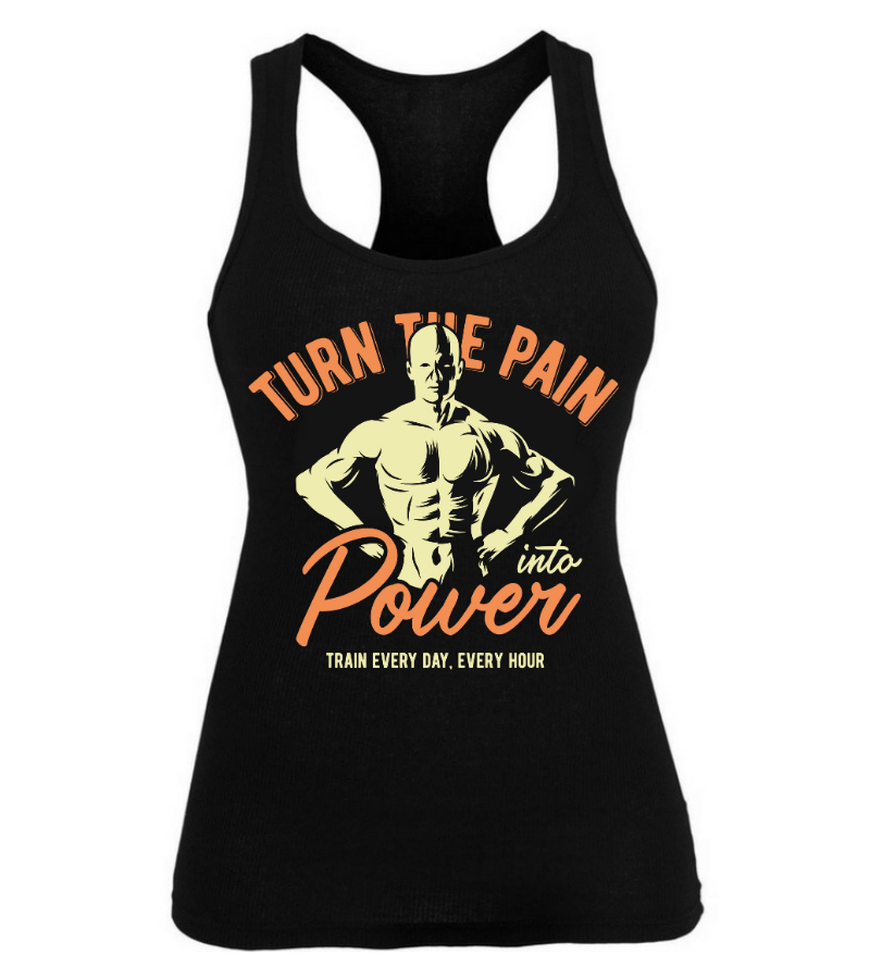 Turn the pain into power