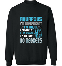 Aquarius I m independent