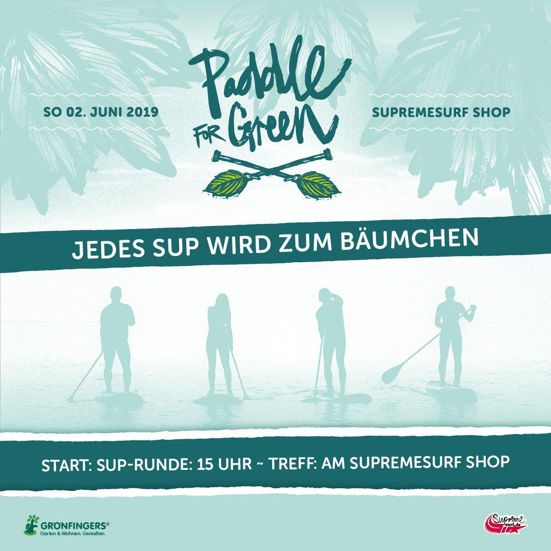 Paddle for Green!