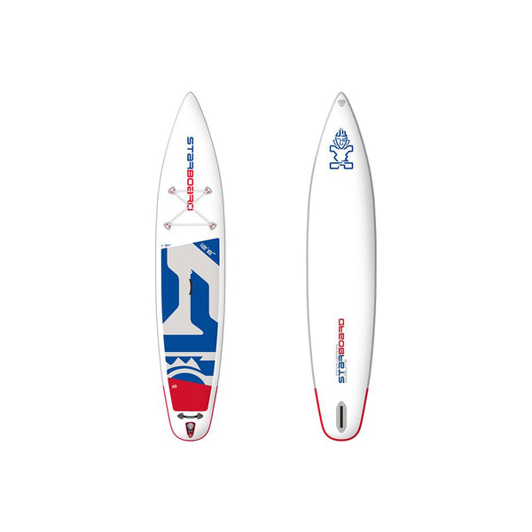 "2020 INFLATABLE SUP 12'6"" X 30"" X 6"" TOURING ZEN inkl. 3-pcs ABS Fieberglas Paddel size M-Starboard-Supremesurfshop"