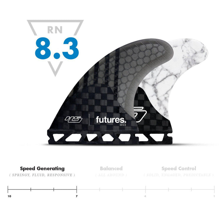 FUTURES Thruster Fin Set HS2 Hayden Cox Generation-futures-Supremesurfshop