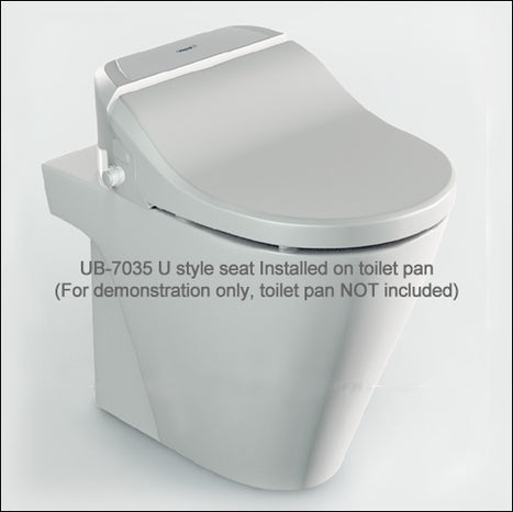 UB-7035U: Remote Controlled Japanese Style Shower Toilet
