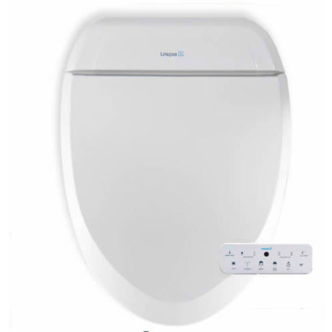 UB-7035RL: Elongated Remote Controlled Electronic Bidet Seat