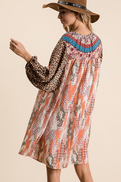 DREAM WEAVER MIDI DRESS