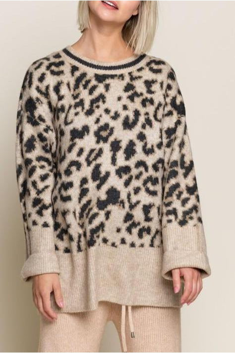 LATTE OCTAVIA SWEATER