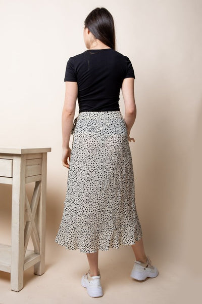 DARLINGTON WRAP SKIRT