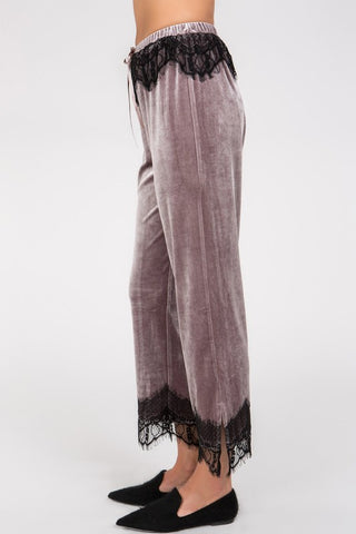 CHANTAL VELVET PANTS