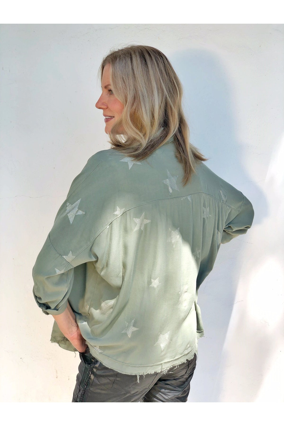 FRENCH SAGE BLOUSE