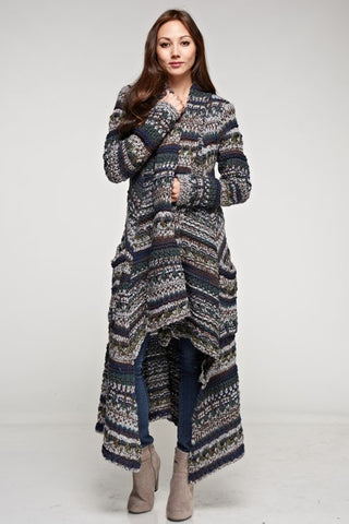 FIGUERE LONG CARDIGAN