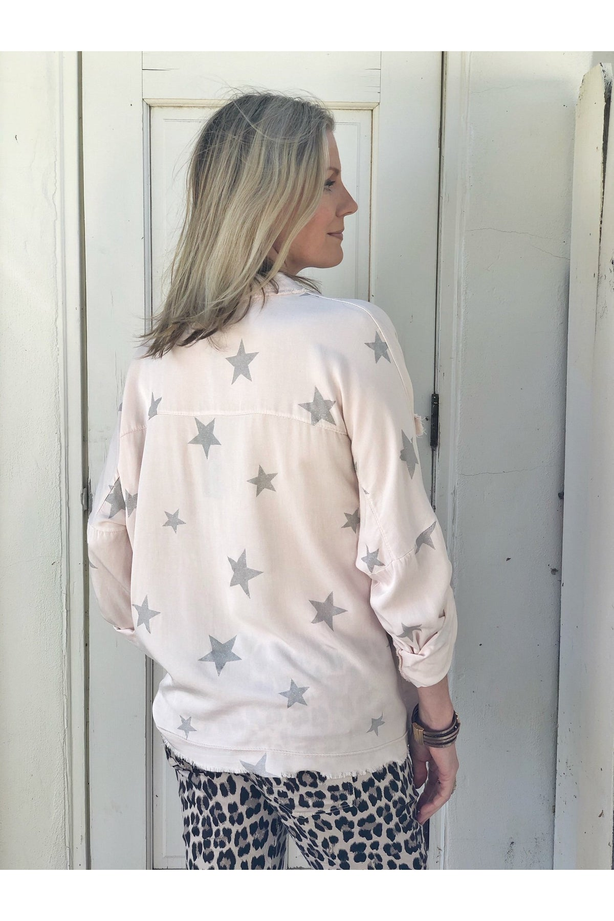 FRENCH PINK BLOUSE