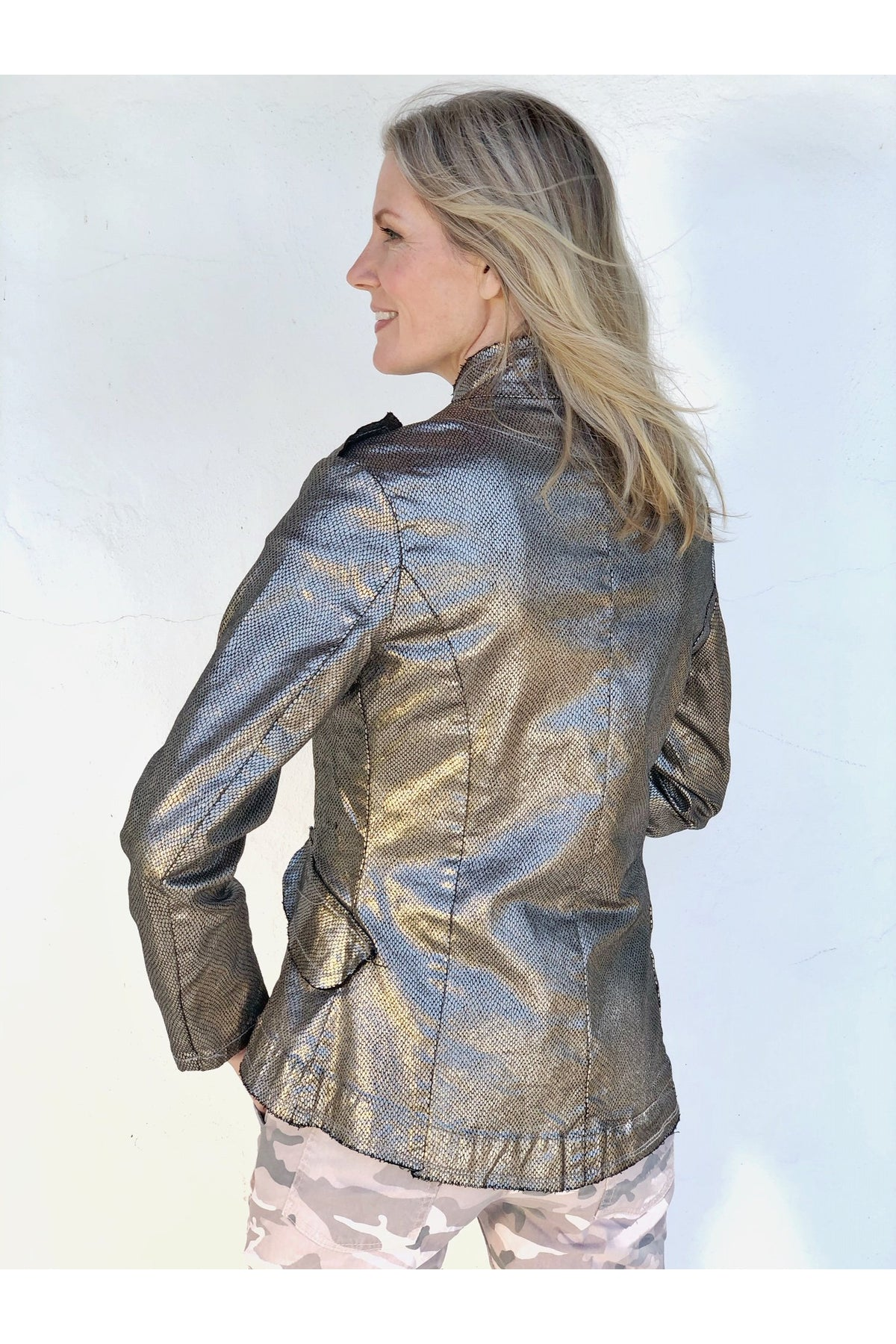 PEWTER MARCHAND JACKET