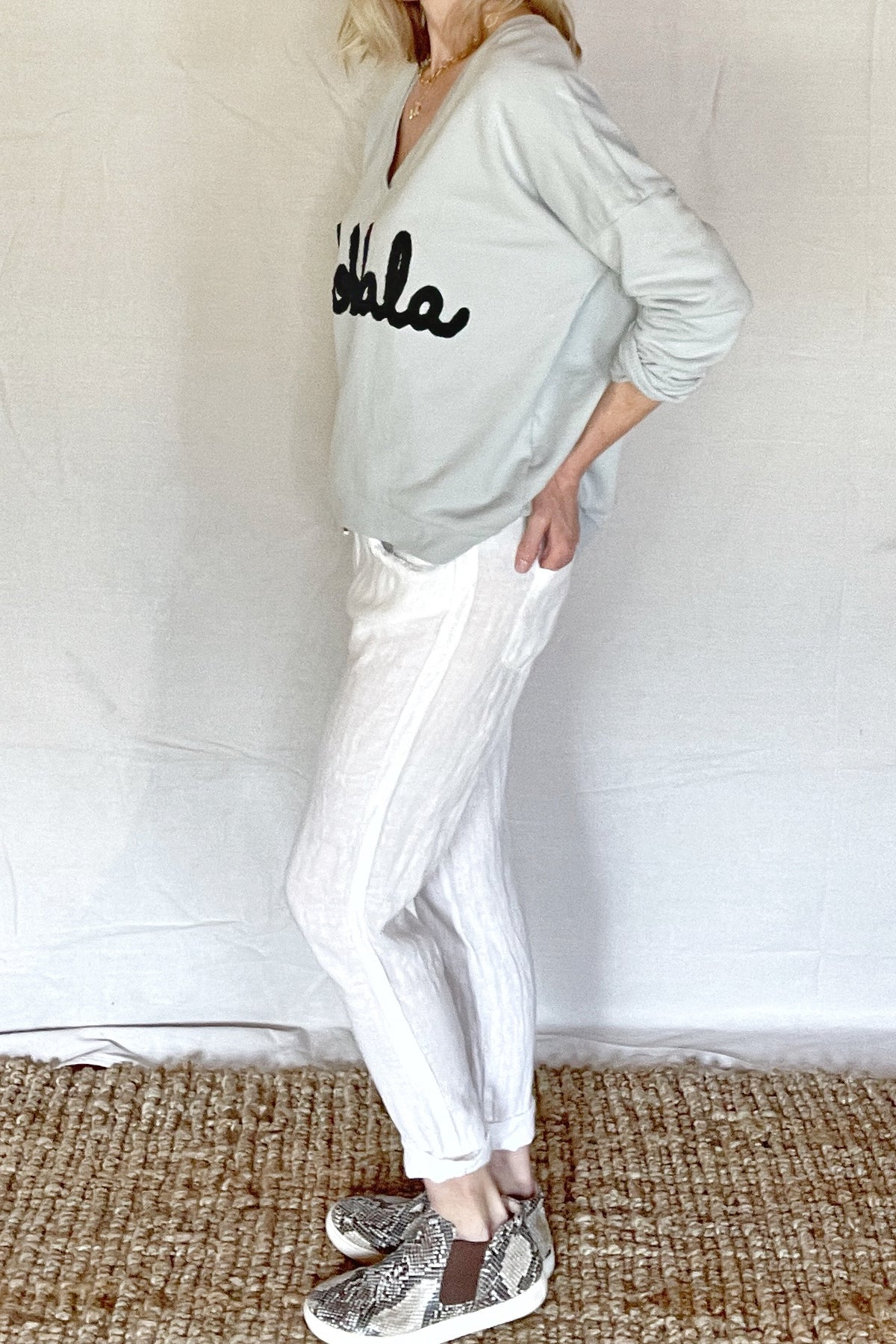 SWIFT LINEN PANTS