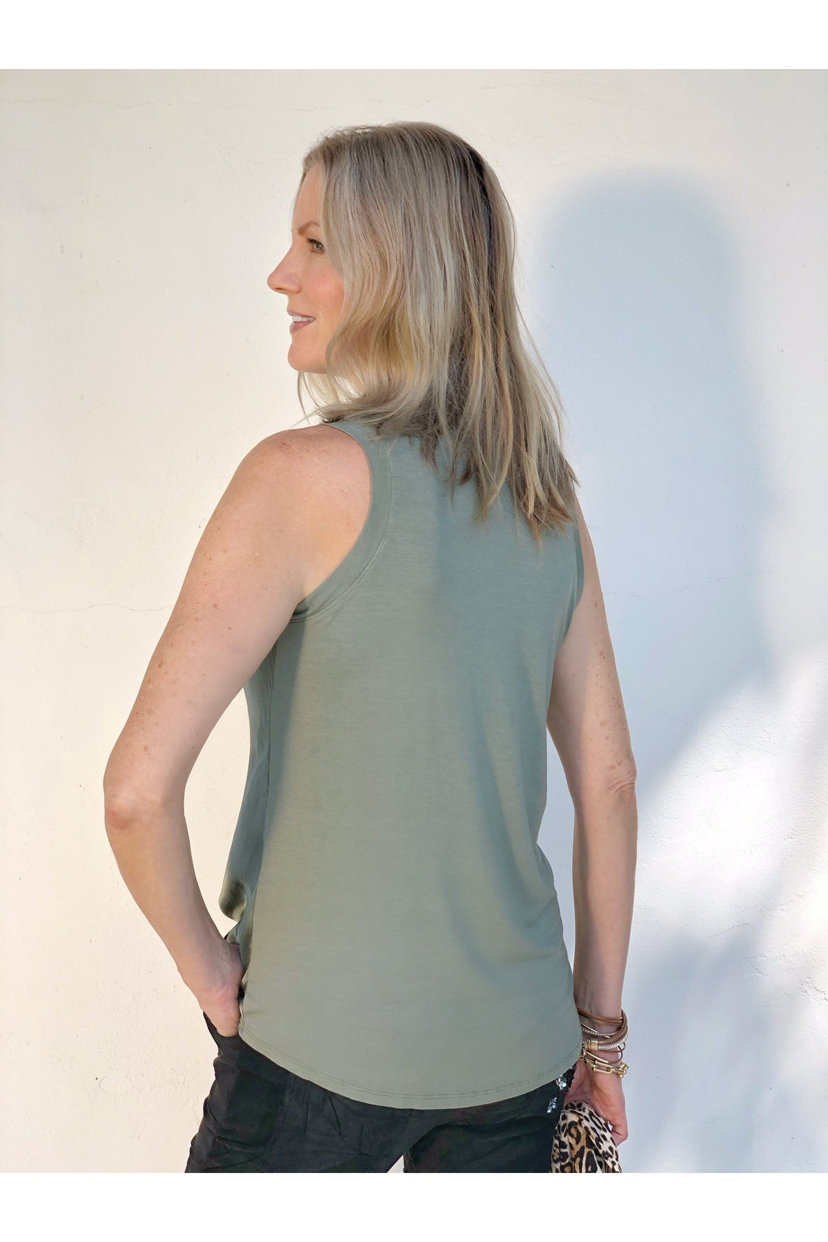 SAGE DAMSEL TOP
