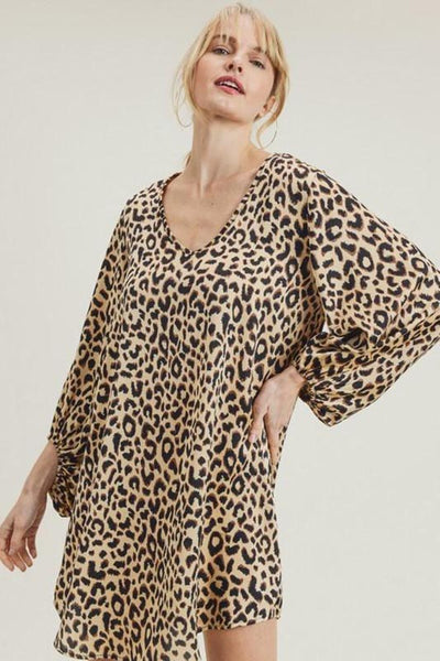 WILD CARD TUNIC DRESS