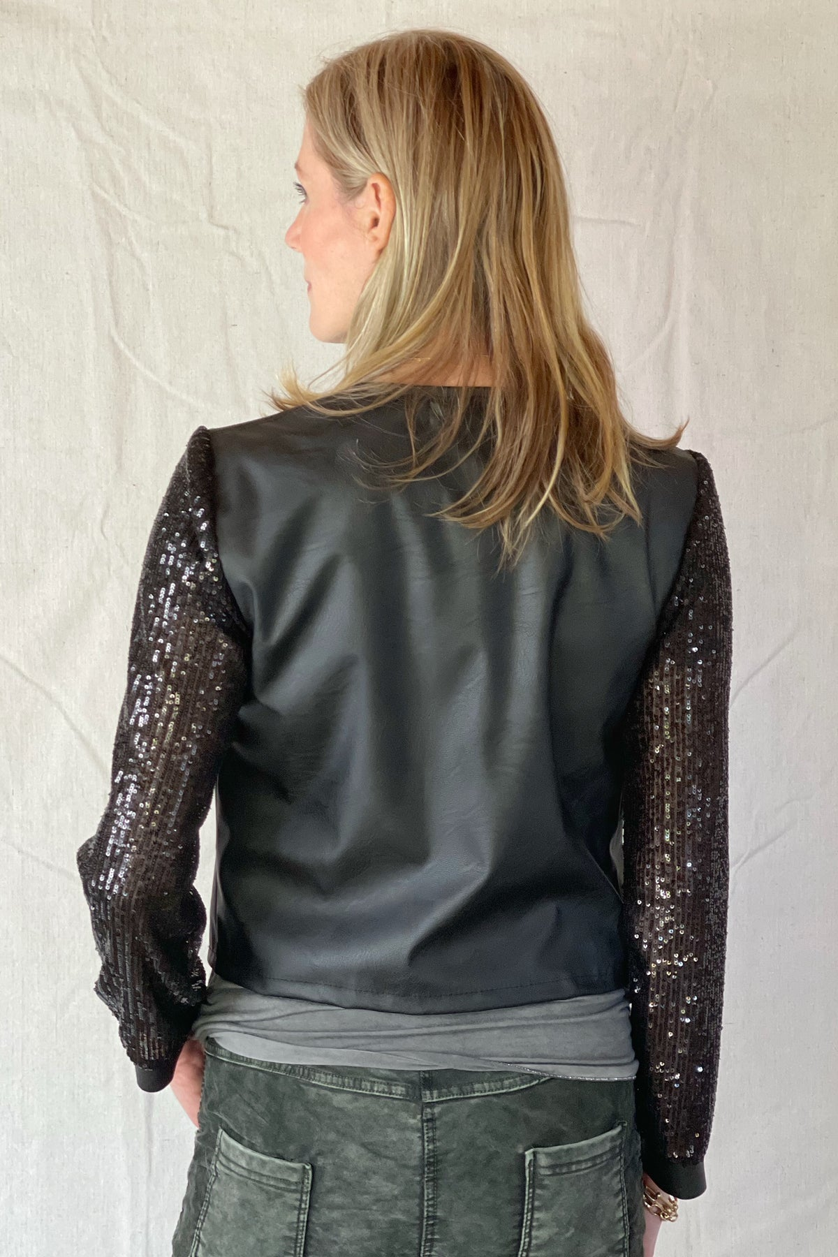 CIRQUE ECO LEATHER JACKET