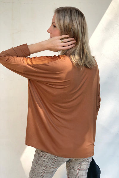COGNAC MEADOW TOP