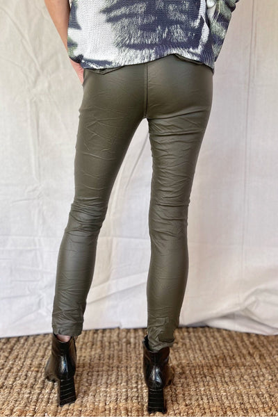MARIEL ECO LEATHER PANTS