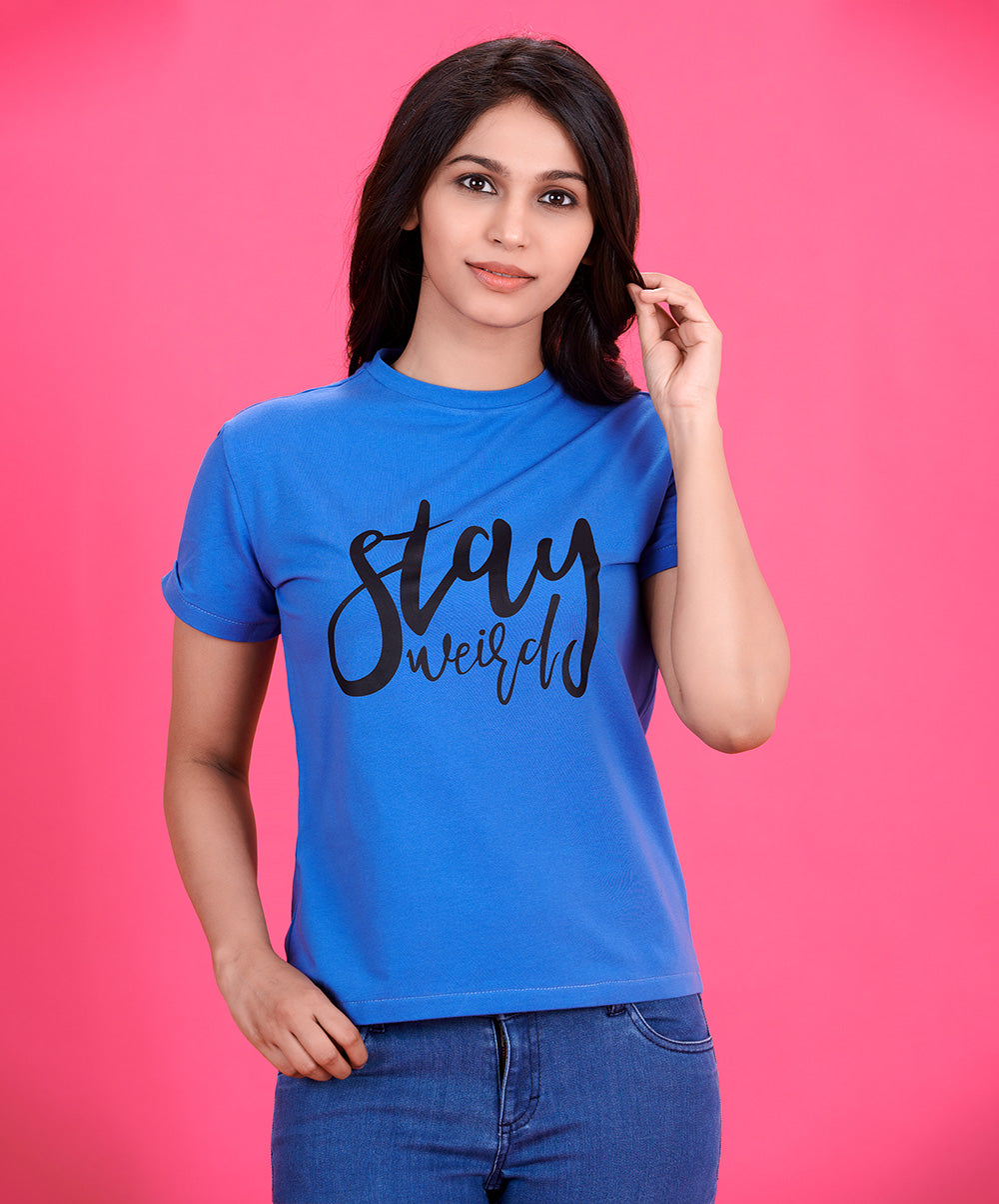 Stay Printed T-Shirt