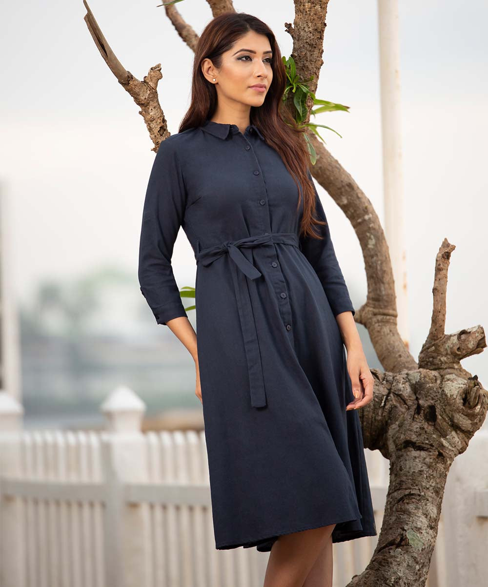 Dark Blue Lele Dress