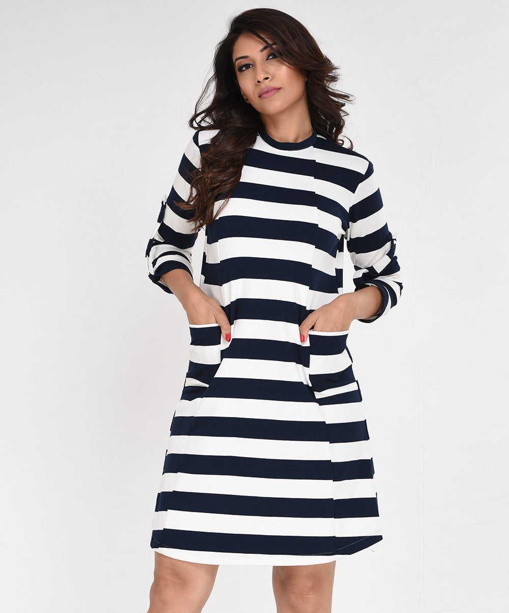 Striped Sporty Dress