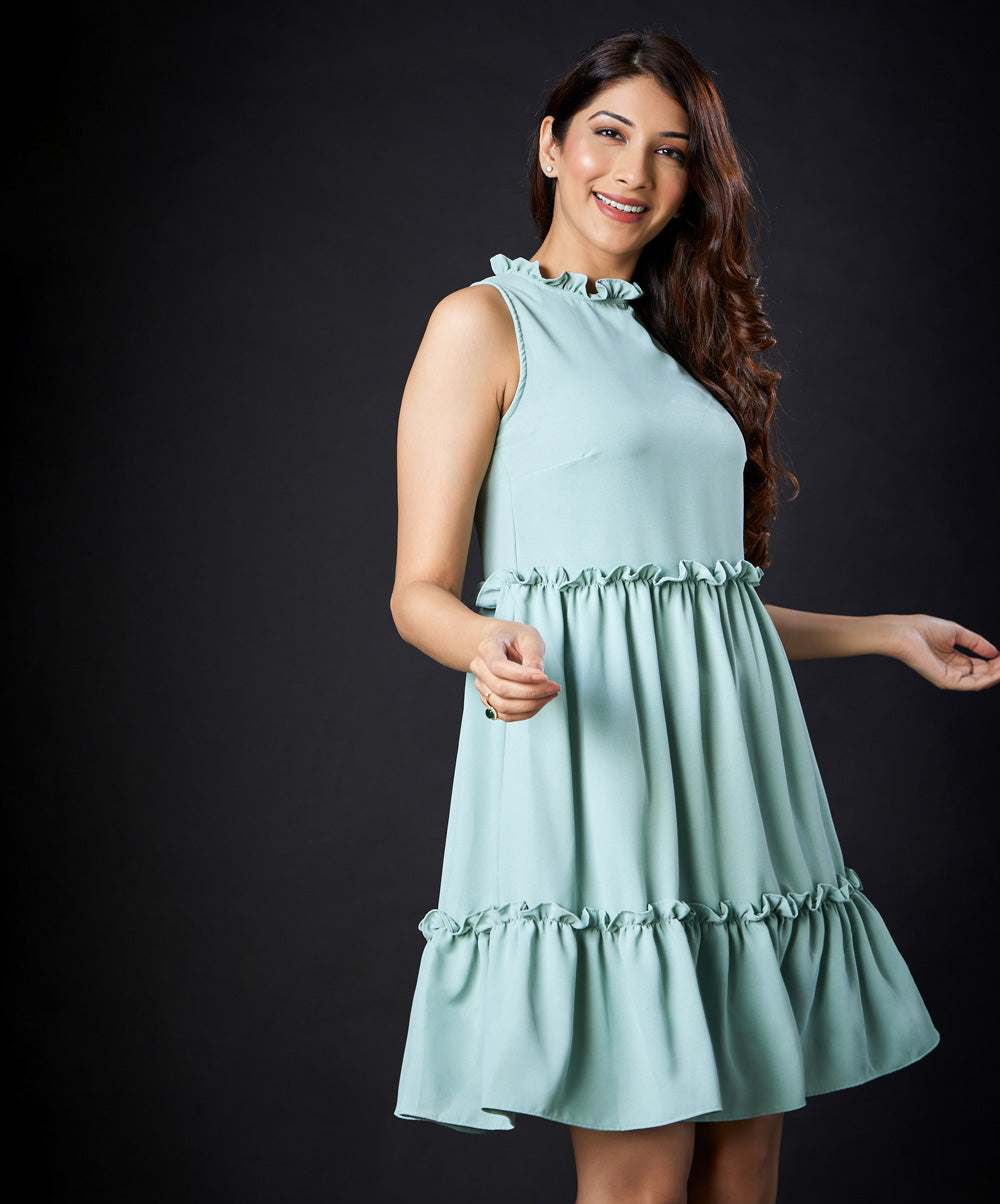 Three Panel Pastel Dress