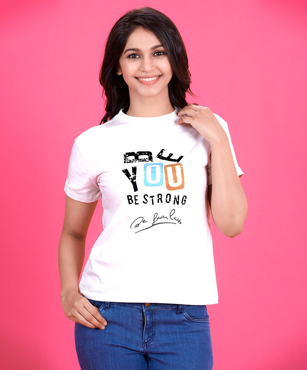 Be You Printed T-Shirt