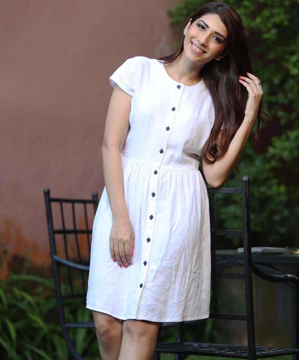White Layla Dress