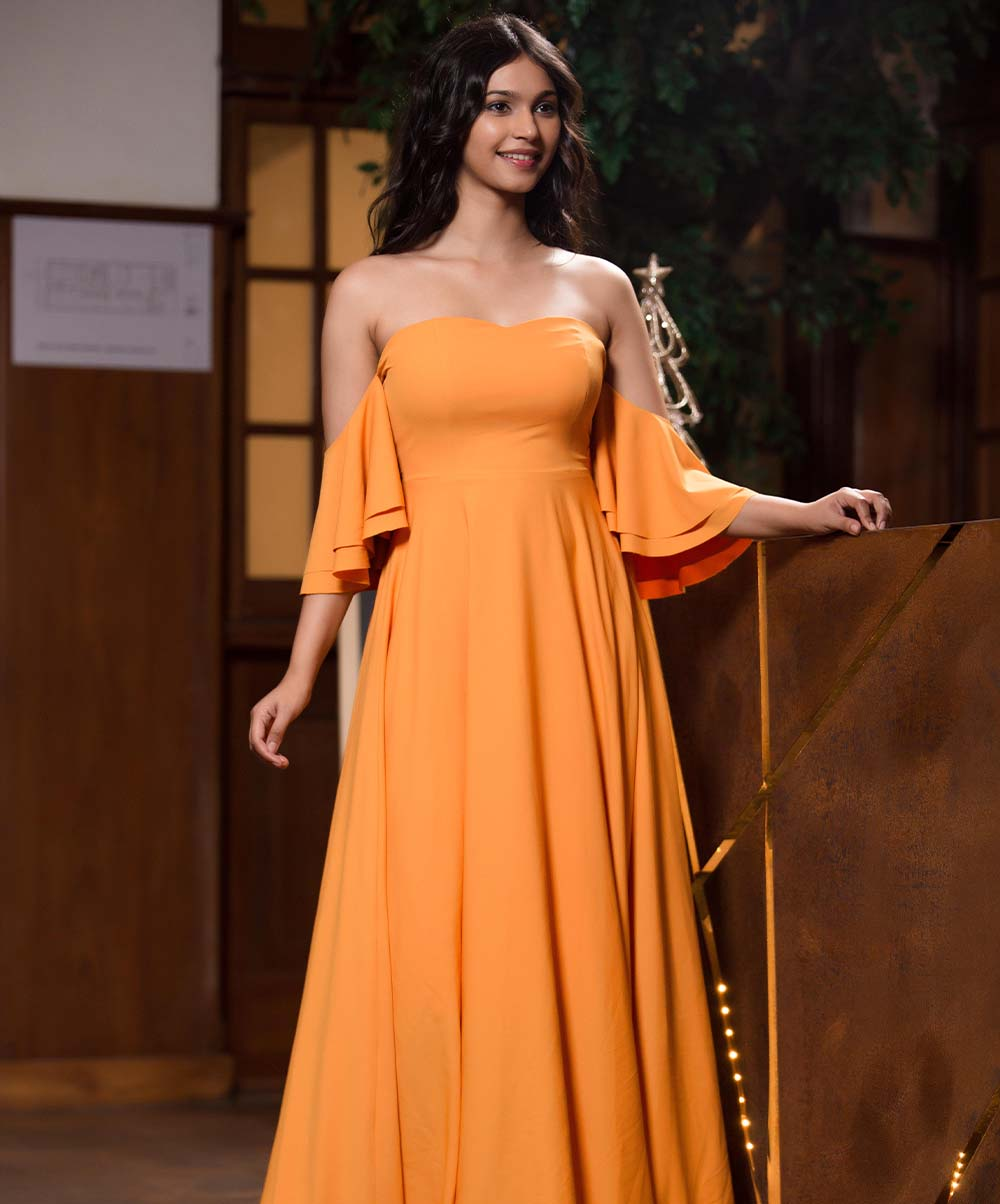 Sunny Off Shoulder Maxi Dress