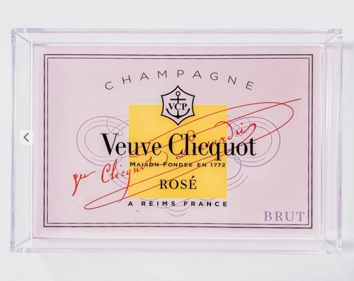 SMALL VEUVE TRAY