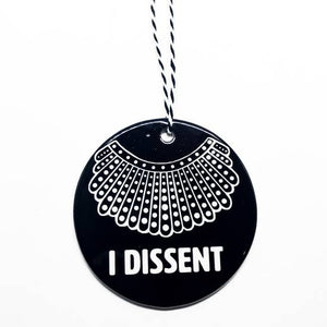 RBG DISSENT COLLAR ORNAMENT
