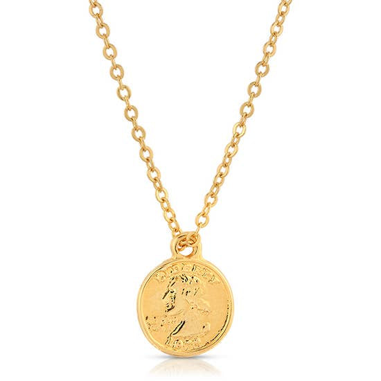 CHARIS COIN NECKLACE
