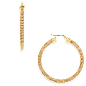 DEX MESH EARRING LARGE