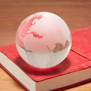 WORLD VIEW PAPERWEIGHT