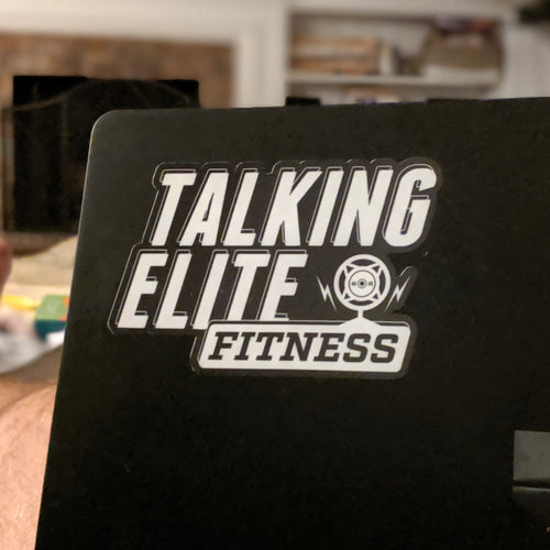 Talking Elite Fitness Decal