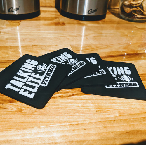 Talking Elite Fitness Coasters