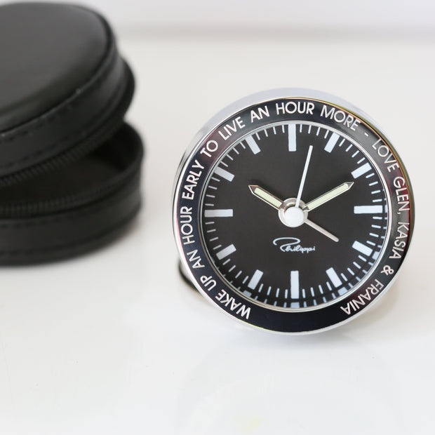Personalised Alarm Clock - Wear We Met