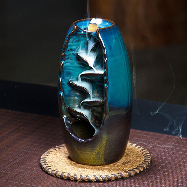 2 Color Backflow Incense Burner