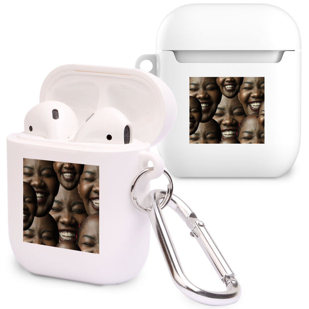Multi Face Photo Upload Airpod Case