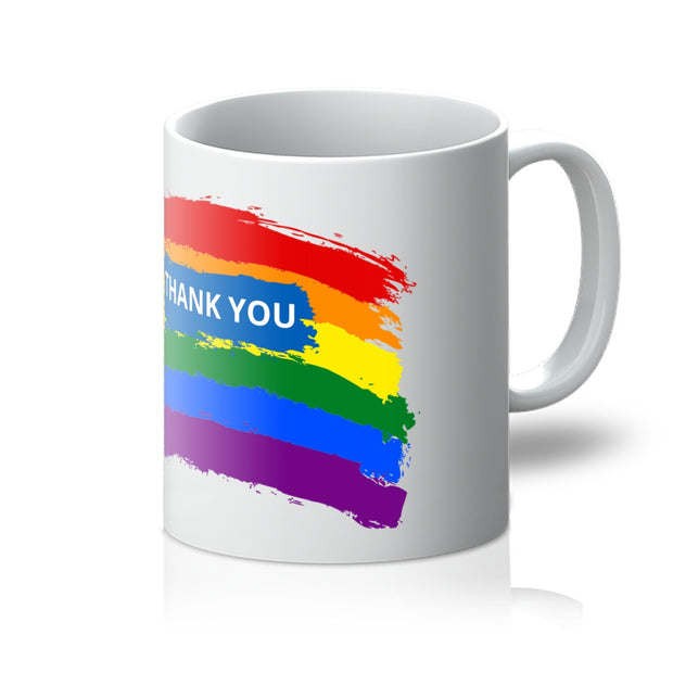 THANK YOU RAINBOW Mug - VertaStyle