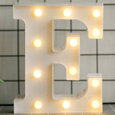 Luminous LED Initial Light