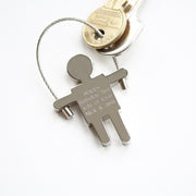 Skipping Sam Key Ring - Wear We Met