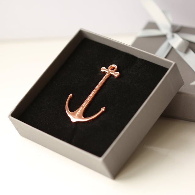 Book Anchor - Gold & Rose Gold - Wear We Met
