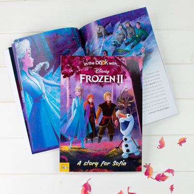 Personalised Frozen 2 Book - Softback