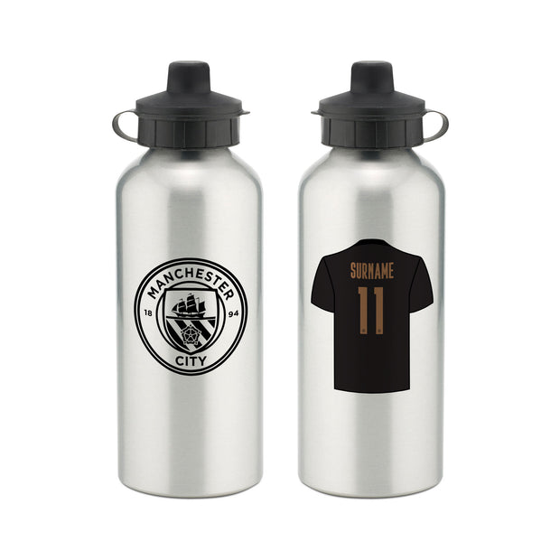 Manchester City FC Away Aluminium Water Bottle