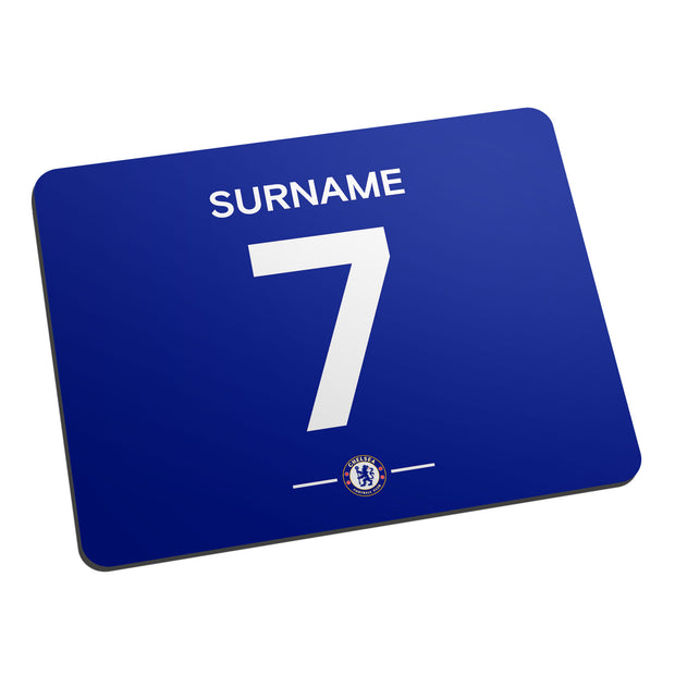 Chelsea FC Player Shirt Mouse Mat
