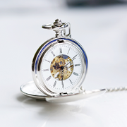 Dual Opening Pocket Watch - Wear We Met