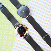 Personalised Elie Beaumont Dark Grey Ladies Watch - Wear We Met