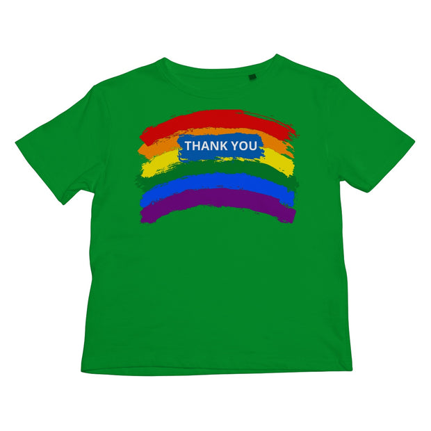 THANK YOU RAINBOW Kids Retail T-Shirt - VertaStyle